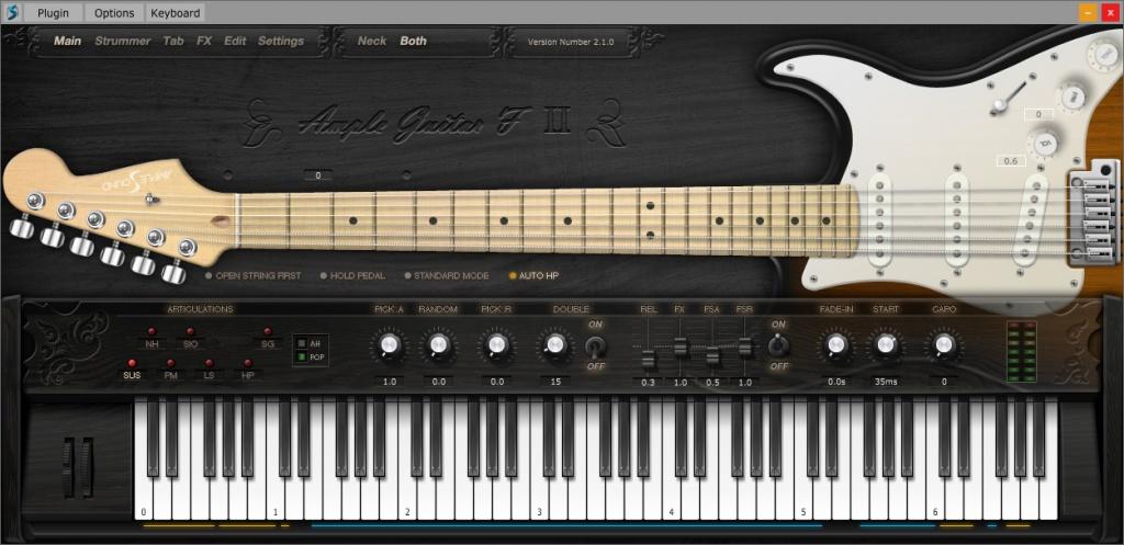 Ample Guitar F
