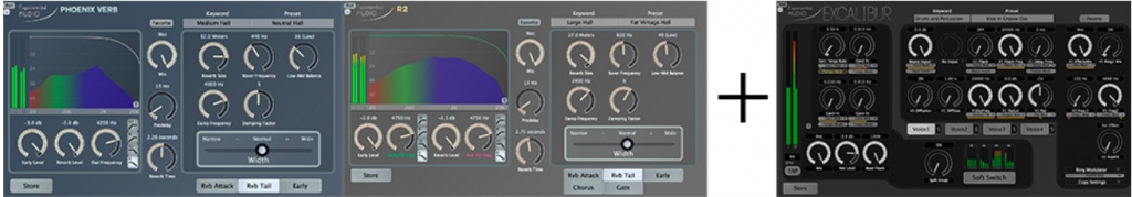 Stereo Reverb Bundle + Excalibur