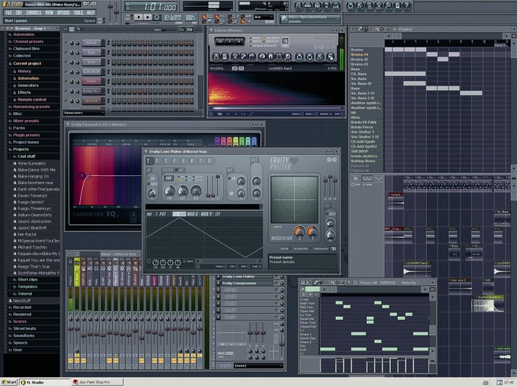 FL Studio 7 XXL