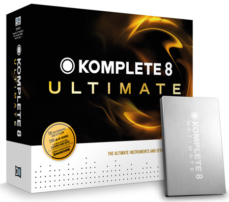 Native Instruments Komplete 8 and K8 Ultimate