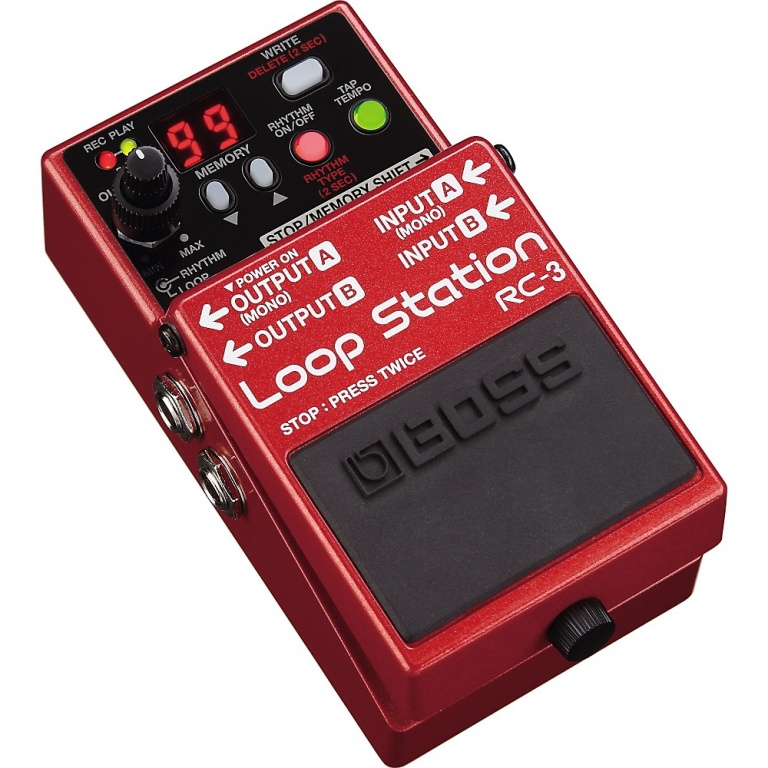 RC-3 Loop Station Compact Phrase Recorder Pedal