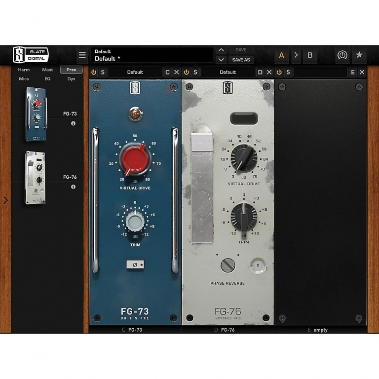 VPC (Virtual Preamp Collection)