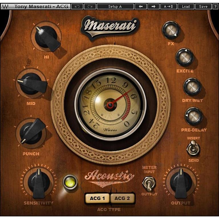 Maserati ACG Acoustic Guitar Designer