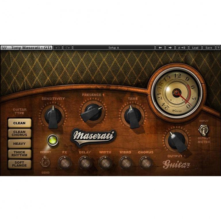 Waves Maserati GTi Guitar Toner
