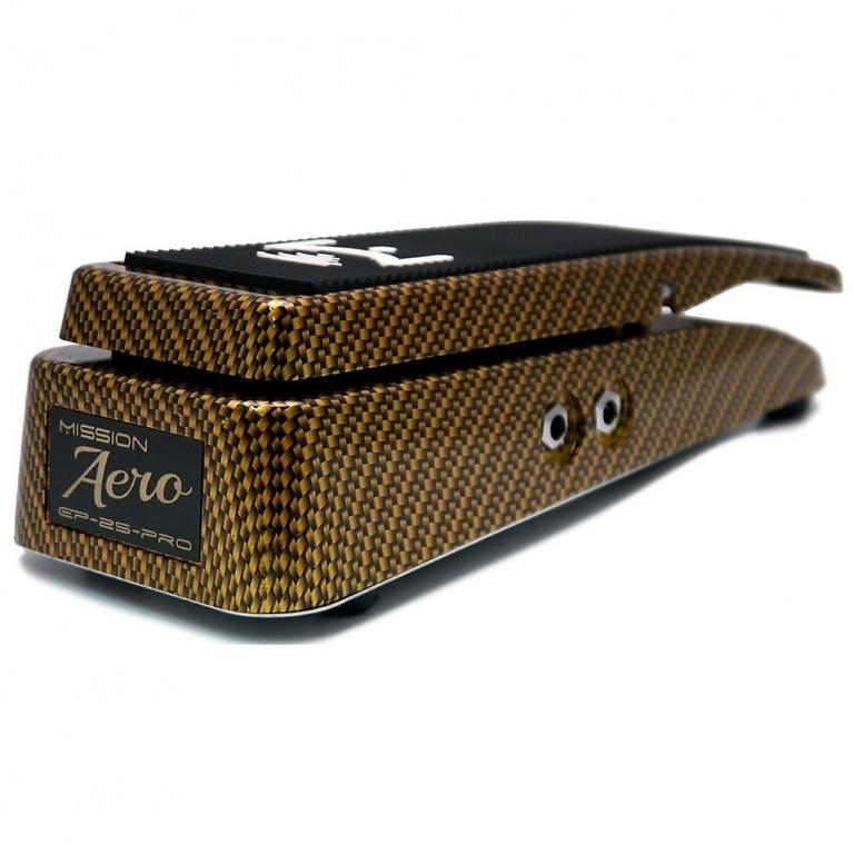 EP-25-Pro Aero Gold Carbon Expression Pedal