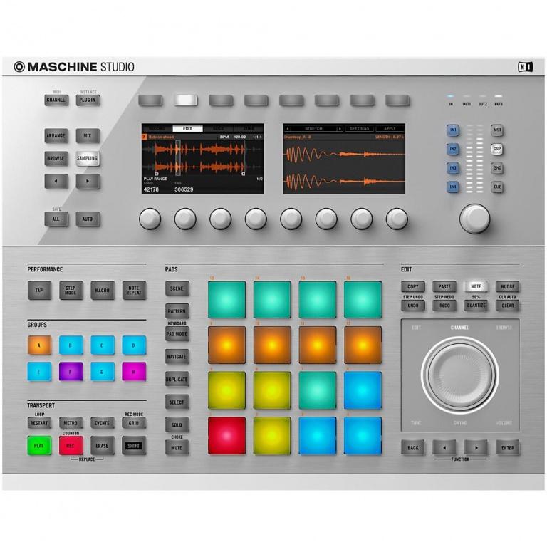 Maschine Studio - White