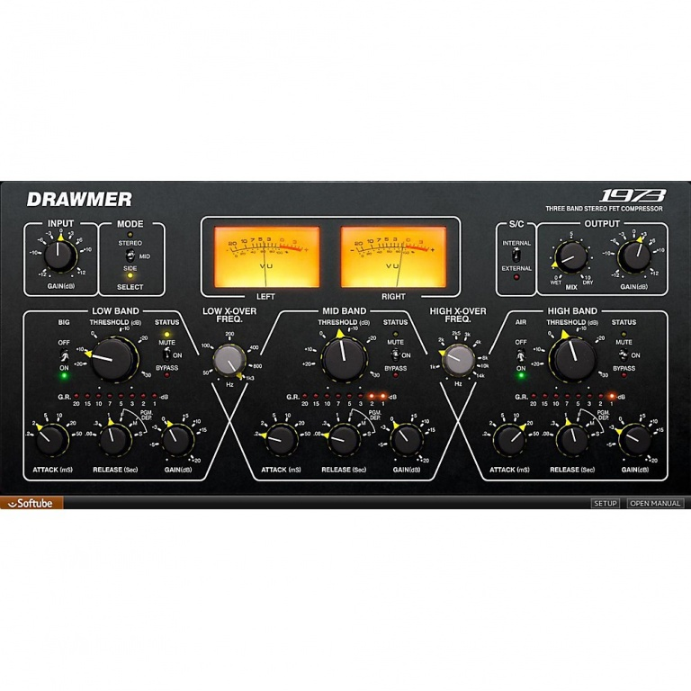 Drawmer 1973 Multi-Band Compressor
