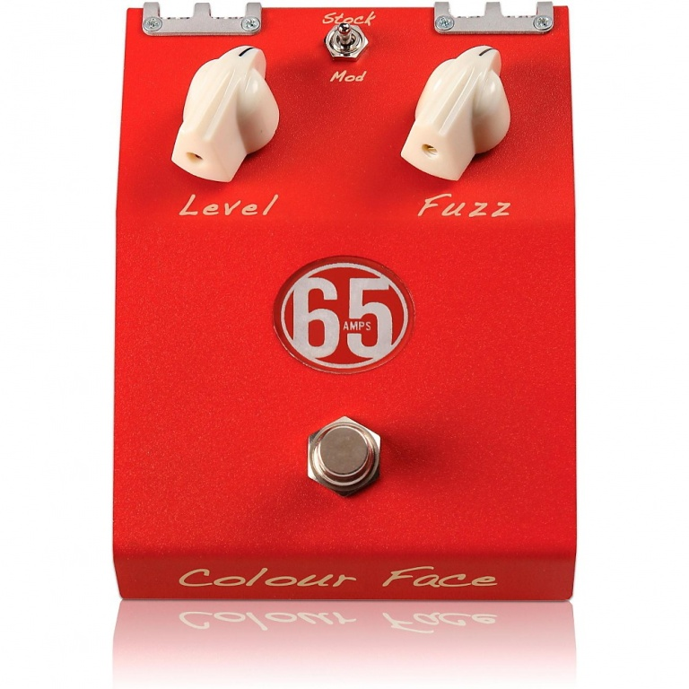 Colour Face - Germanium Transistor Handwired Fuzz Pedal