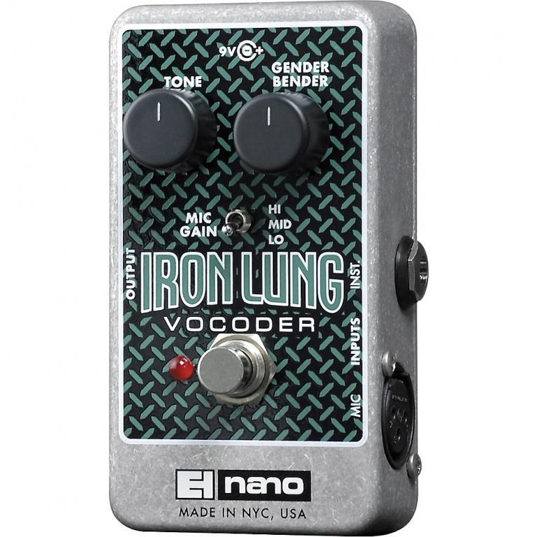 Iron Lung Vocoder Pedal