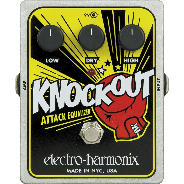 Knockout Attack Equalizer Pedal