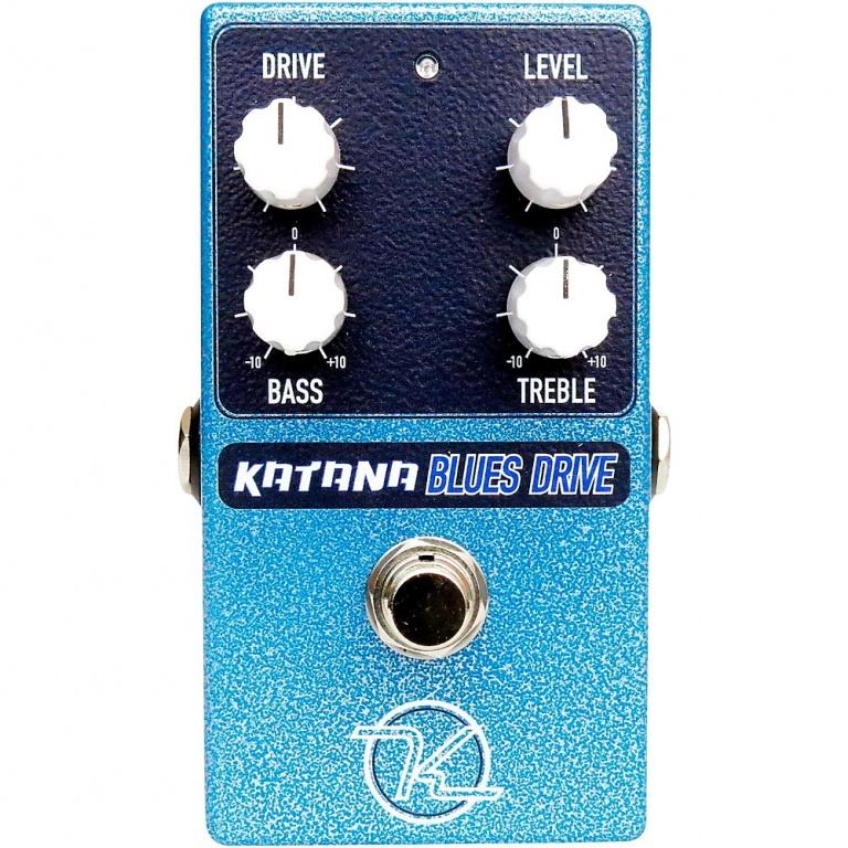 Katana Blues Drive Guitar Effects Pedal