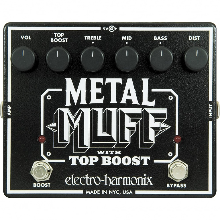 Metal Muff with Top Boost Distortion Pedal