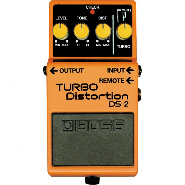 DS-2 Turbo Distortion Pedal