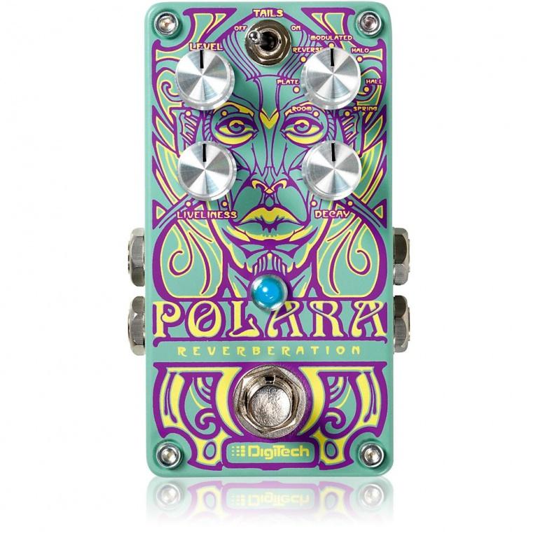Polara Stereo Reverb Pedal