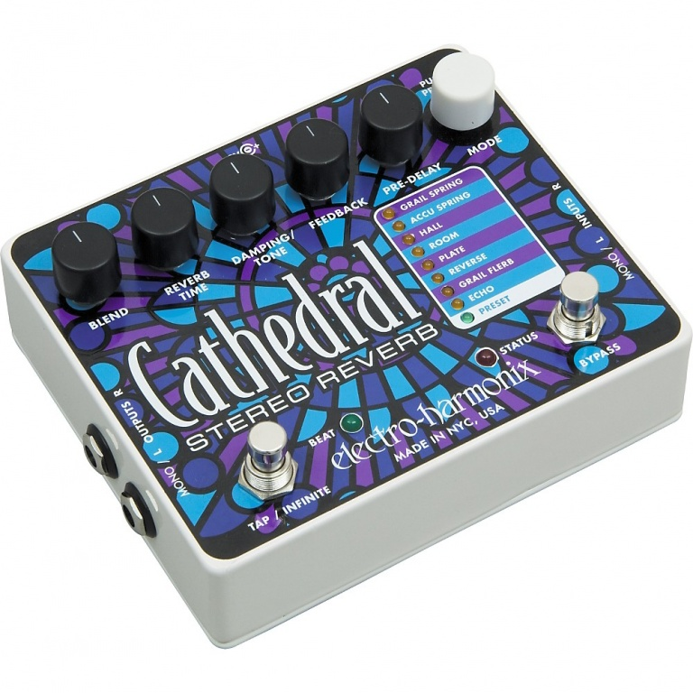 Cathedral Stereo Reverb Pedal