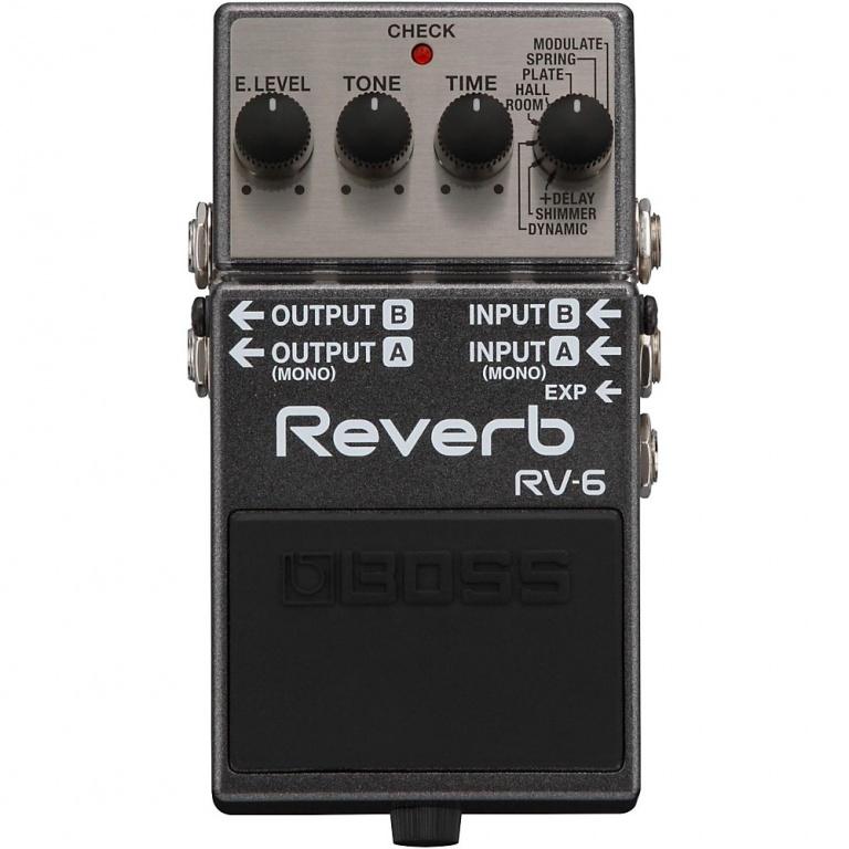 RV-6 Reverb Pedal