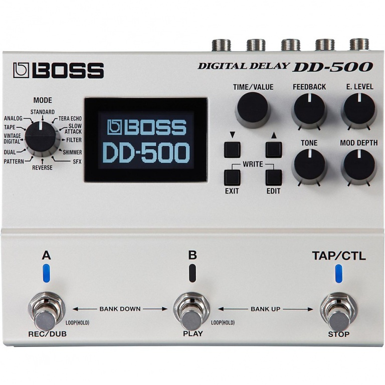 DD-500 Digital Delay Pedal