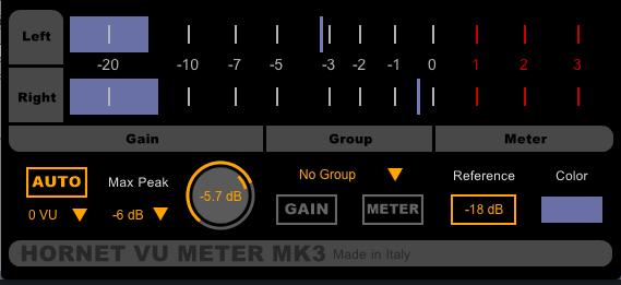 VU Meter MK3