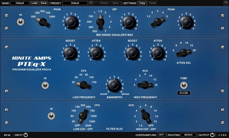 Ignite Amps PTEq-X
