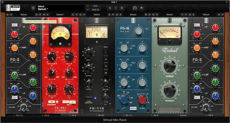 Slate Digital VMR (Virtual Mix Rack)