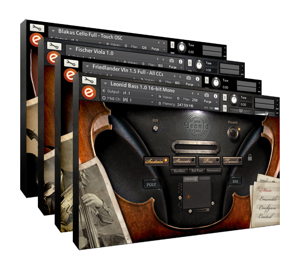 Embertone Intimate Solo Strings Bundle