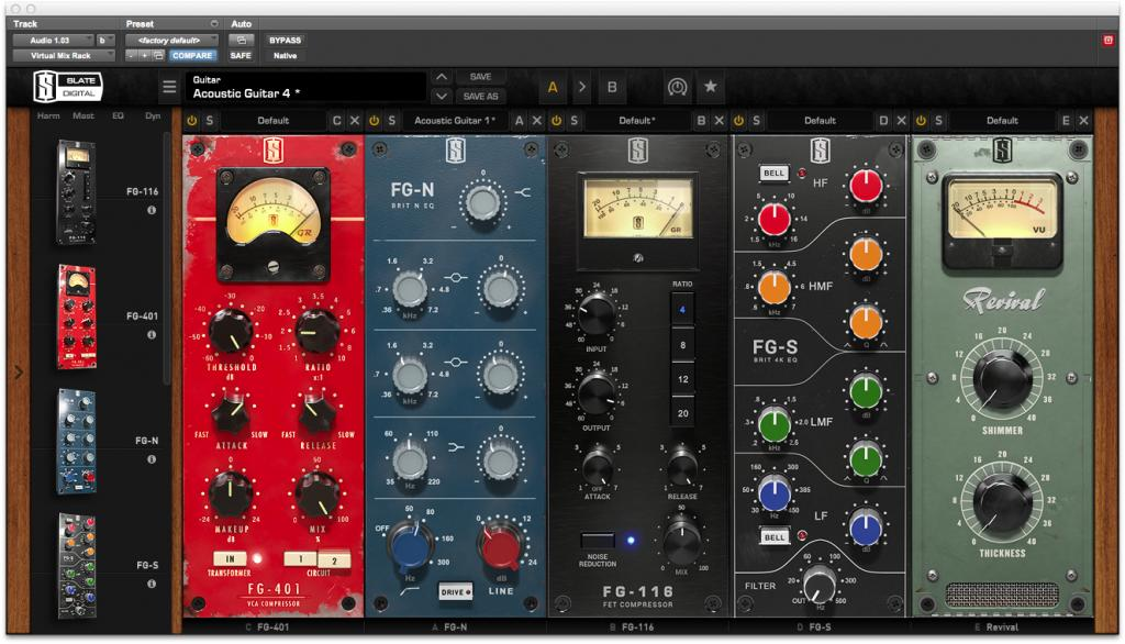 Slate Digital VMR (Virtual Mix Rack)