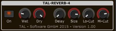 Togu Audio Line TAL-Reverb-4