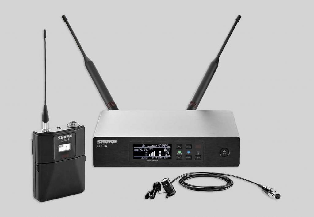 Shure QLX-D Digital Wirelss System