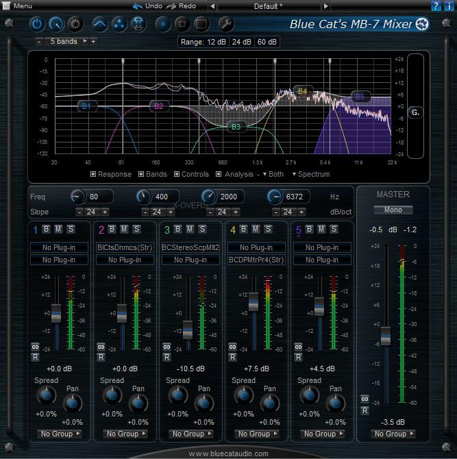 Blue Cat's MB-7 Mixer 2.0