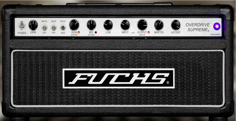 Universal Audio - Fuchs Overdrive Supreme 50 Amp Plug-In for UAD-2