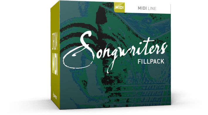 Toontrack Songwriters Fillpack