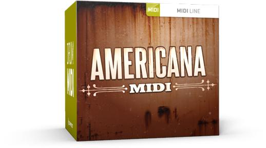 Toontrack Americana MIDI
