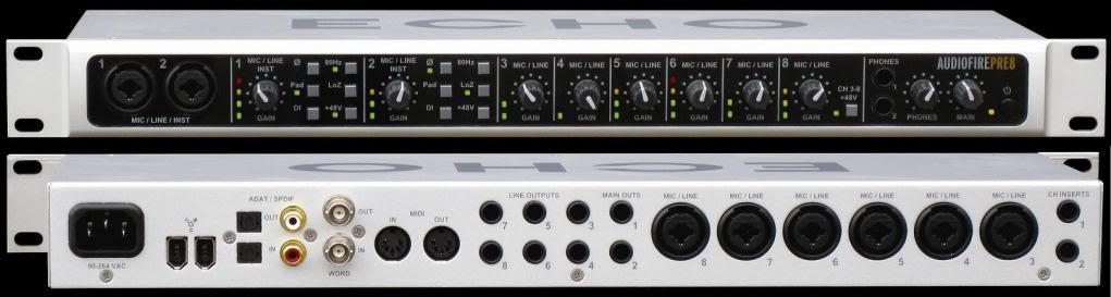 Echo Digital Audio Audiofire Pre8