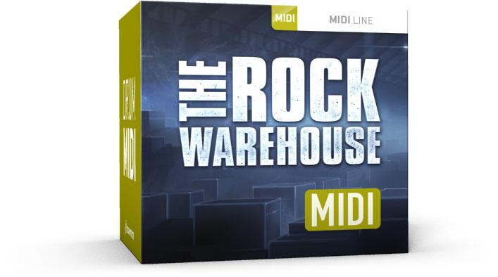 Toontrack The Rock Warehouse MIDI