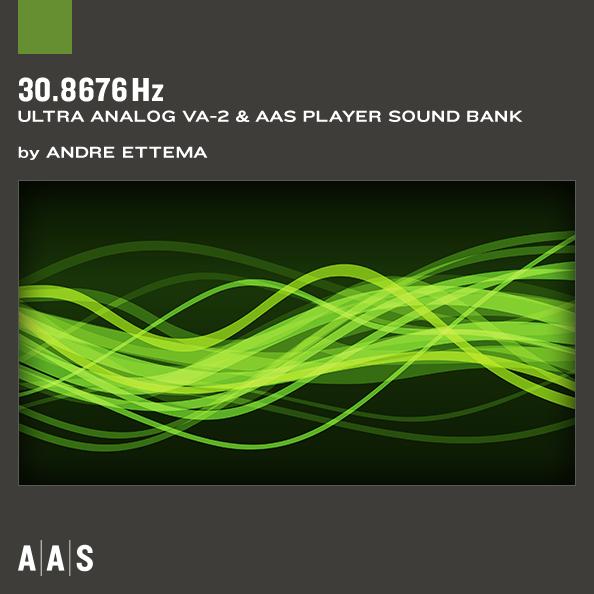 30.8676 Hz Ultra-Analog VA-2 Sound Bank