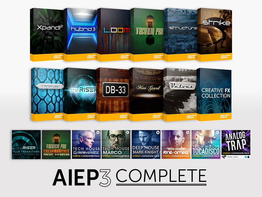AIR Instrument Expansion Pack 3 COMPLETE