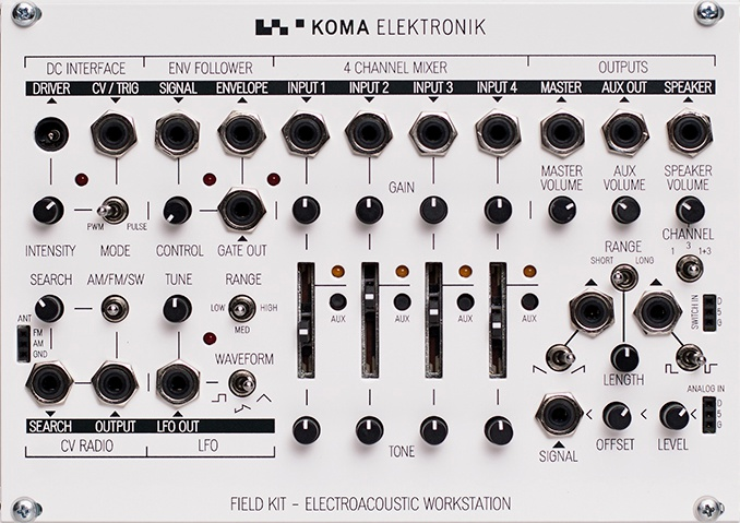 Field Kit - ELECTRO ACOUSTIC WORKSTATION