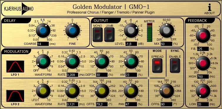 GMO-1 Golden Modulator