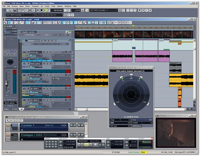 Cakewalk SONAR 6 Producer E  (heavy on INTEL promotion
