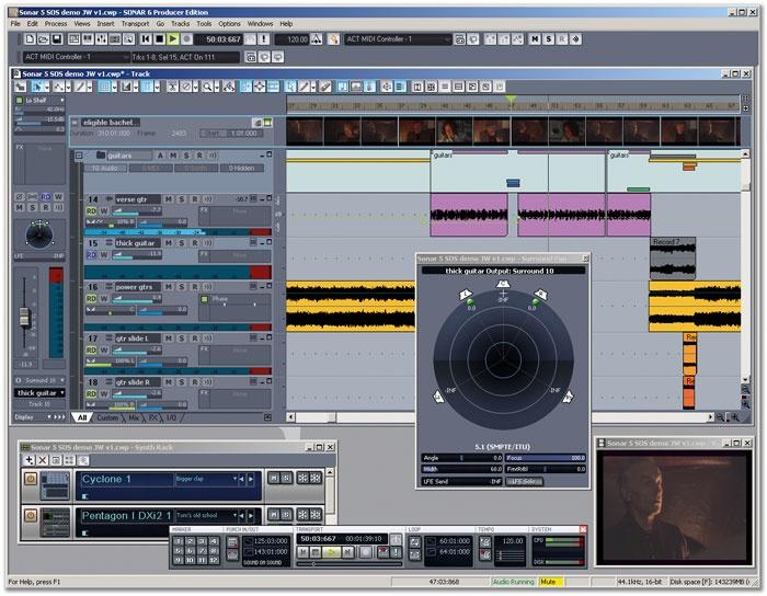 Cakewalk SONAR 6 Producer E  (heavy on INTEL promotion