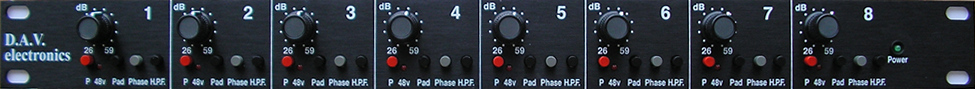D.A.V. Electronics BG8