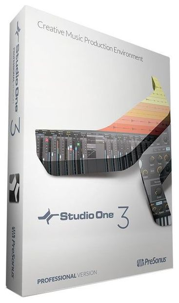 PreSonus Studio One Pro 3