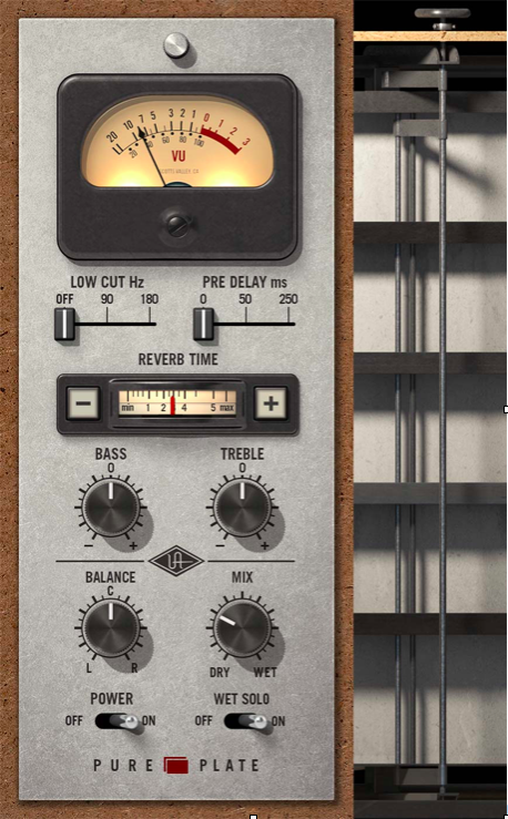 Pure Plate Reverb Plug-in