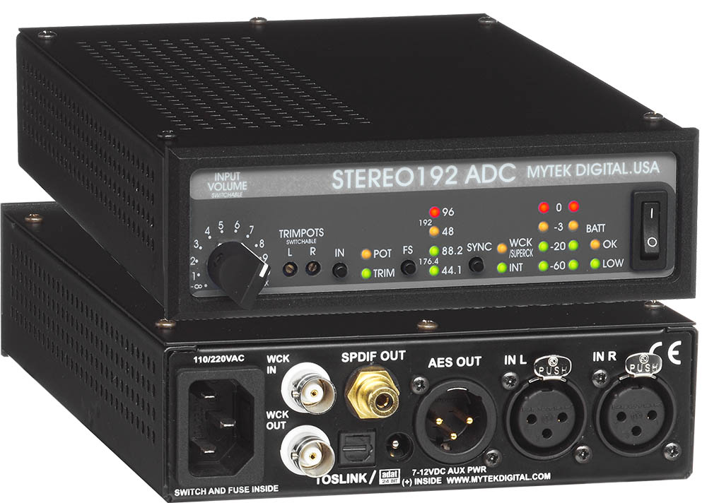 Stereo192 ADC