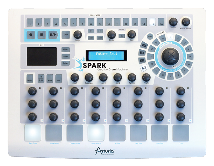 Spark Creative Drum Machine