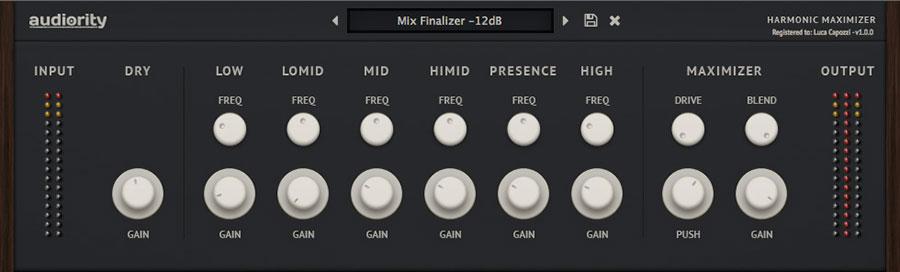 bbe harmonic maximizer