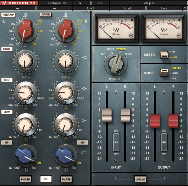 Waves Audio Scheps 73