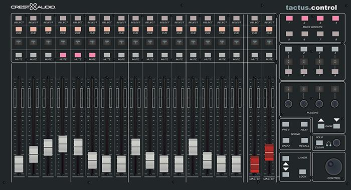 Crest Audio Tactus