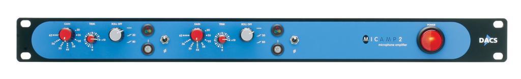 DACS Audio MicAmp II