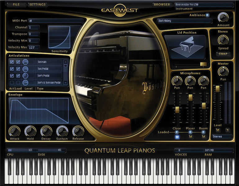EastWest/Quantum Leap Pianos